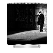 Dream - New York City Street Scene Shower Curtain