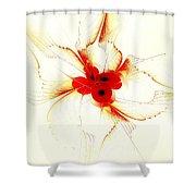 Dream Flower Shower Curtain