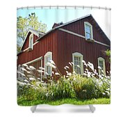 Dream Garage Shower Curtain