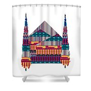 Dream Homes Buy Any Faa Product Or Download For Self-printing  Navin Joshi Rights Managed Images Gra Shower Curtain