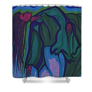 Dream In Color 1 By Jrr Shower Curtain