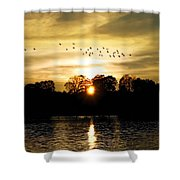 Dream Of A Sunset Shower Curtain