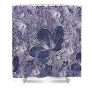 Dream On In Purple Shower Curtain