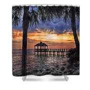 Dream Pier Shower Curtain