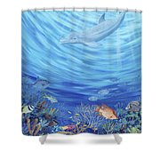 Dream Reef Shower Curtain