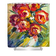 Dream Roses Shower Curtain
