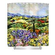 Dream Valley Shower Curtain