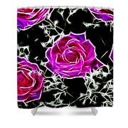 Dream With Roses Shower Curtain