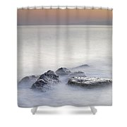 dreaming between the islands I Shower Curtain