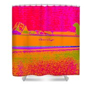 Dreaming In Full Color Shower Curtain