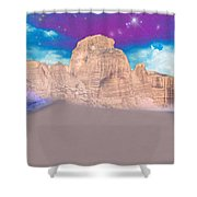 Dreaming Landscape Shower Curtain by Augusta Stylianou