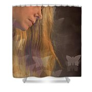 Dreaming... Shower Curtain