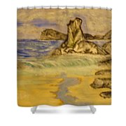 Dreaming Of Beaches Shower Curtain