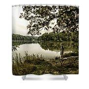 Dreaming Of Fishing At Argyle Lake Shower Curtain