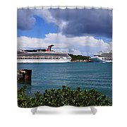 Dreaming Of Freedom 3 Shower Curtain