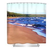 Dreaming Of Lake Superior Shower Curtain