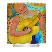 Dreaming Of San Miguel Shower Curtain