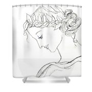 Dreaming Of The Dance Shower Curtain