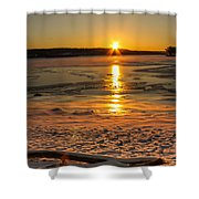 Dreaming Star Shower Curtain