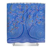 Dreaming Tree By Jrr Shower Curtain