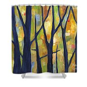 Dreaming Trees 2 Shower Curtain