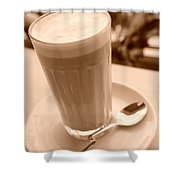 Dreams Of Coffee  Shower Curtain