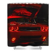 Dreams Of Red Seduction Shower Curtain
