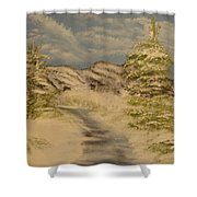 Dreams Of Snow Shower Curtain