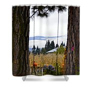 Dreams Of The Swing Shower Curtain