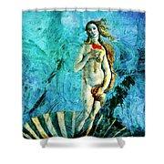 Dreams Of Venus Shower Curtain