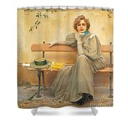 Dreams  Shower Curtain by Vittorio Matteo Corcos