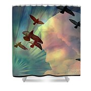 Of Lucid Dreams / Dreamscape 6 Shower Curtain