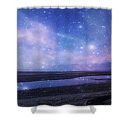 Dreamscape Shower Curtain by Marilyn Wilson