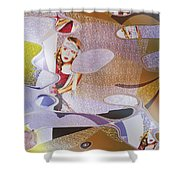 Dreamscapes #1 Shower Curtain