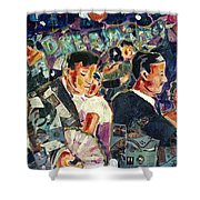 Dreamstreet Dancers Shower Curtain