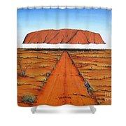 Dreamtime Australia Shower Curtain