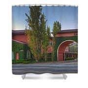 Dreamworks Studio Burbank Glendale Ca Panorama  Shower Curtain