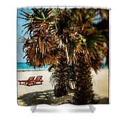 Dreamy Beach Sri Lanka Shower Curtain