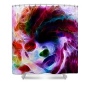 Dreamy Face Shower Curtain