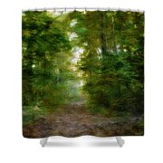 Dreamy Forest Shower Curtain
