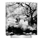 Dreamy Gardens - 1007 Shower Curtain