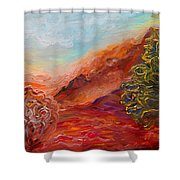Dreamy Landscape Shower Curtain