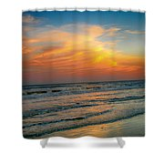 Dreamy Texas Sunset Shower Curtain