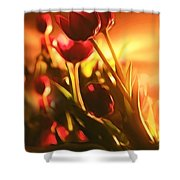 Dreamy Tulips Shower Curtain