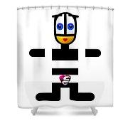 Dress Code Shower Curtain