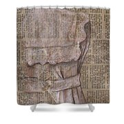 Dress Shower Curtain by Kathy Weidner