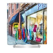 Hoboken Nj Dress Shop Shower Curtain