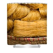 Dried Rice Noodles 04 Shower Curtain