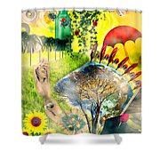 Drifting Away Shower Curtain