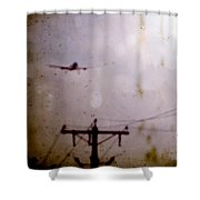 Drifting Into Daydreams Shower Curtain